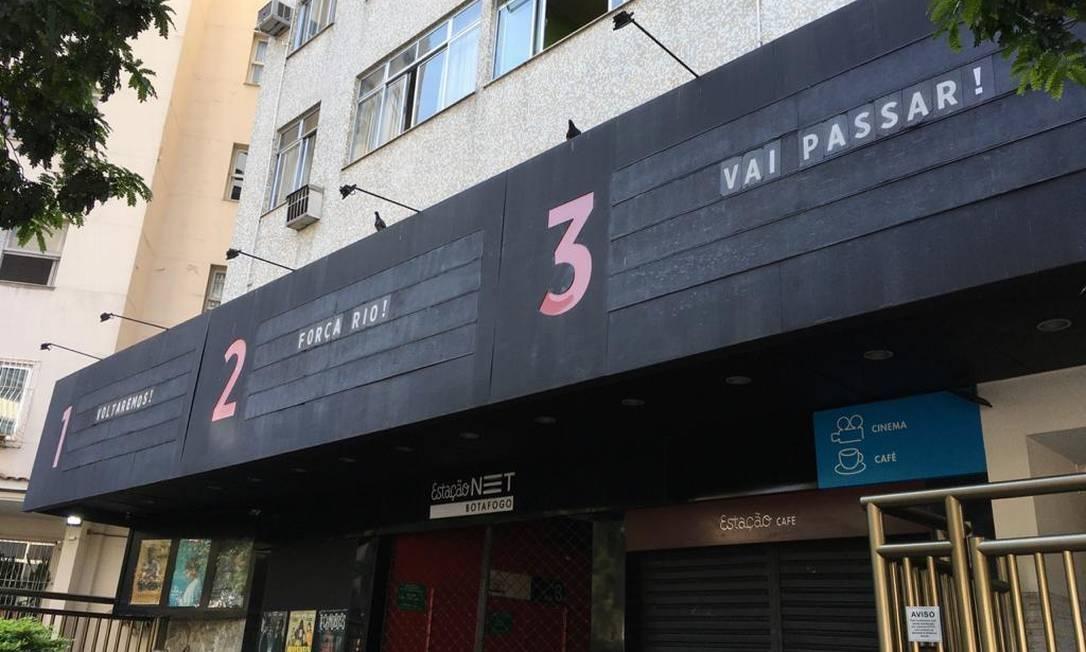 Cinema Estação Botafogo Foto: Divulgação