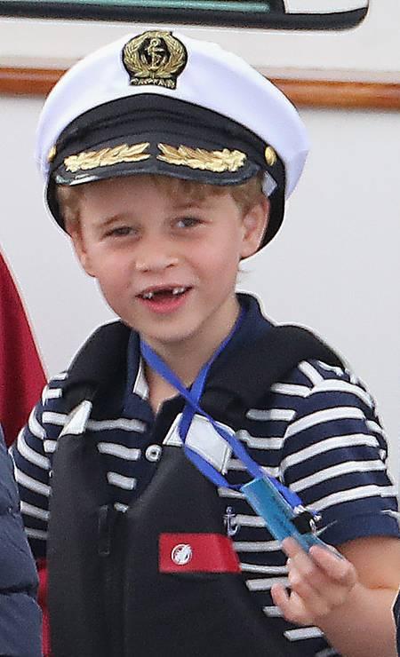 De marinheiro, na regata King's Cup, em agosto de 2019 Foto: Chris Jackson / Getty Images