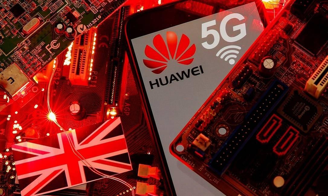Huawei: banimento na Inglaterra e limitações na França. Foto: Dado Ruvic / REUTERS