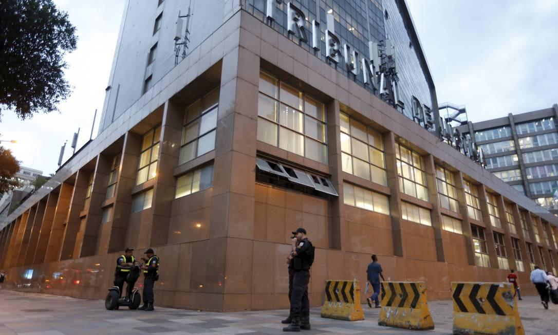 Sede do Tribunal de Justiça, no Centro do Rio Foto: Domingos Peixoto / Agência O Globo