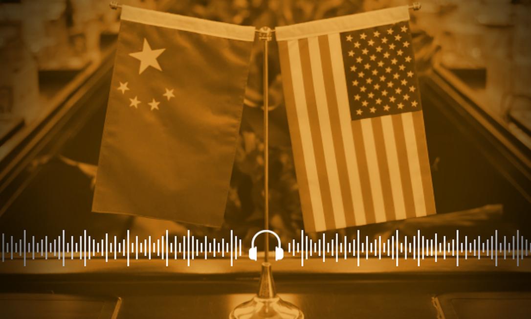 Governo dos EUA determinou fechamento do consulado chinês em Houston, no Texas Foto: Arte