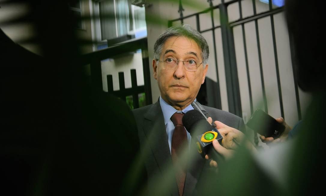 Ex-governador de Minas Gerais, Fernando Pimentel Foto: Fernando Frazão / Agência Brasil