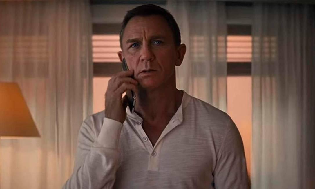 Daniel Craig em '007 - Sem tempo para morrer' Foto: Divulgação