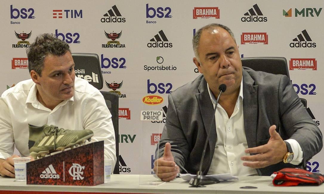 Braz e Spindel já iniciaram as negociações Foto: Divulgação