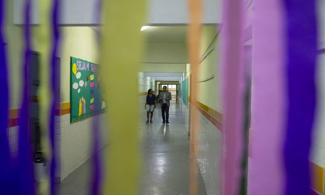 Escola construída com fundos do Fundeb em Queimados (RJ), na Região Metropolitana do Rio Foto: Antonio Scorza / Agência O Globo