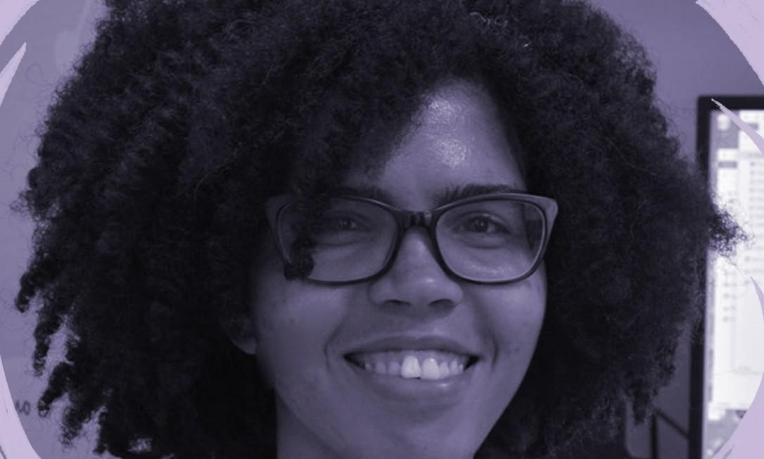A matemática Juliane Oliveira, pesquisadora da Fundação Oswaldo Cruz (Fiocruz), na Bahia Foto: Arquivo pessoal