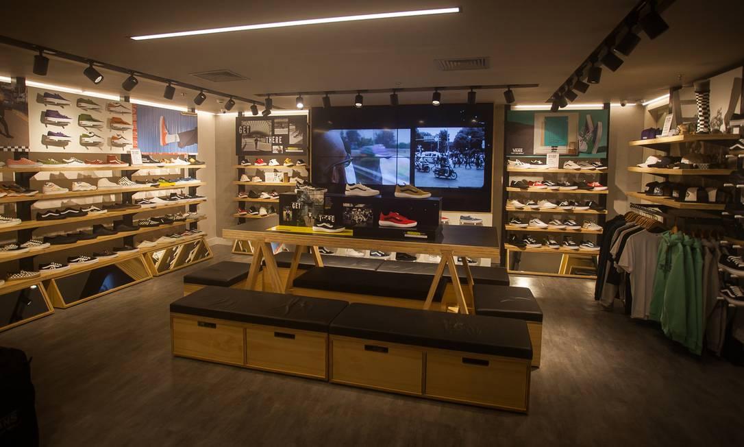 Vans abre primeira loja no Rio, no BarraShopping Foto: Divulgação / Divulgação