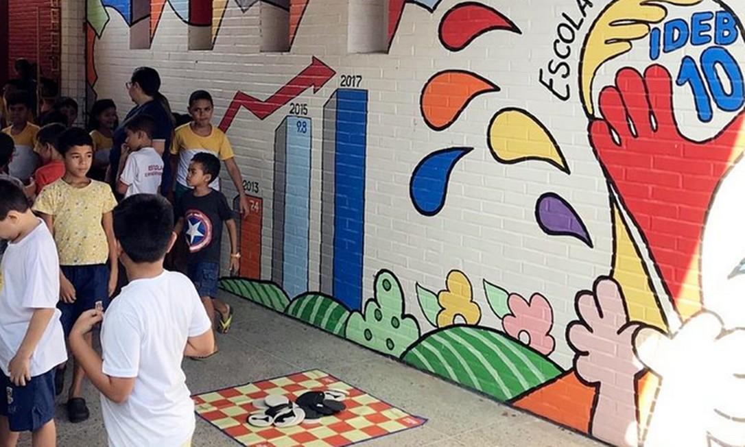 Escola em Sobral possui resultados acima da média nacional no Ideb Foto: Antonio Gois