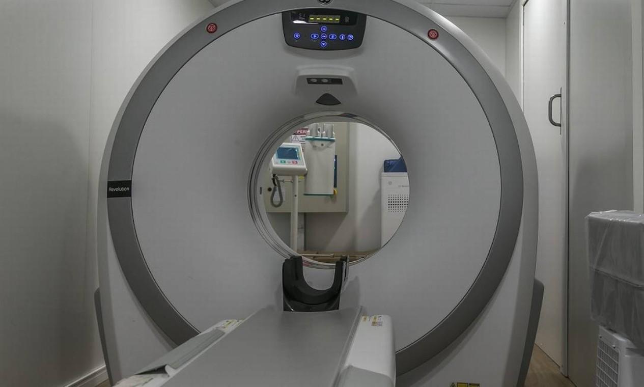 Como o Lagoa-Barra, a unidade tem mil profissionais e estrutura laboratorial e de diagnóstico, com tomógrafos e aparelhos de ultrassonogra a, entre outros Foto: Marco Sobral / G.LAB