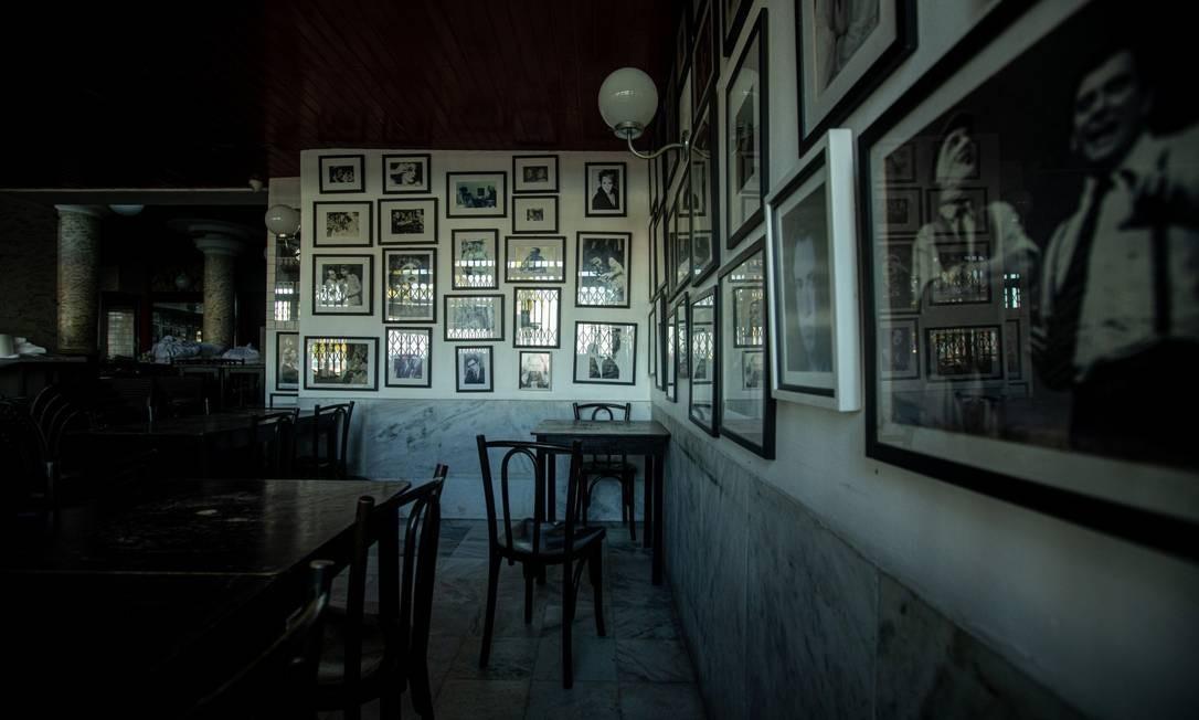 O restaurante La Fiorentina, no Leme, é uma das casas que luta para manter as portas abertas Foto: BRENNO CARVALHO / Agência O Globo