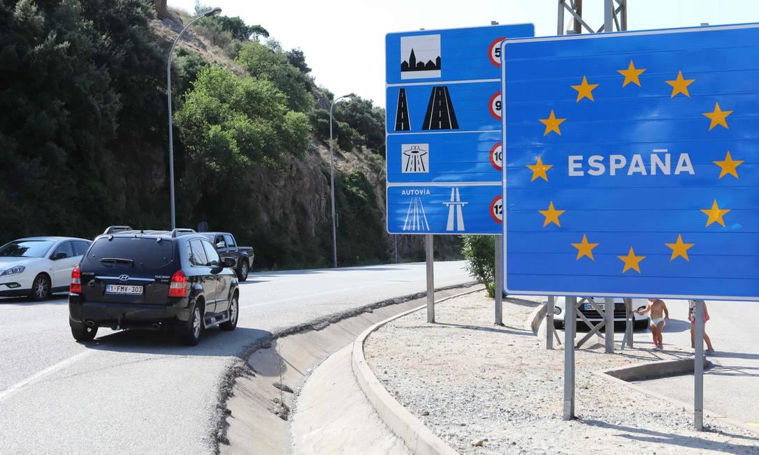 Países colocam em quarentena viajantes vindos da Espanha devido a novo surto de coronavírus Foto: RAYMOND ROIG / AFP/25-07-2020