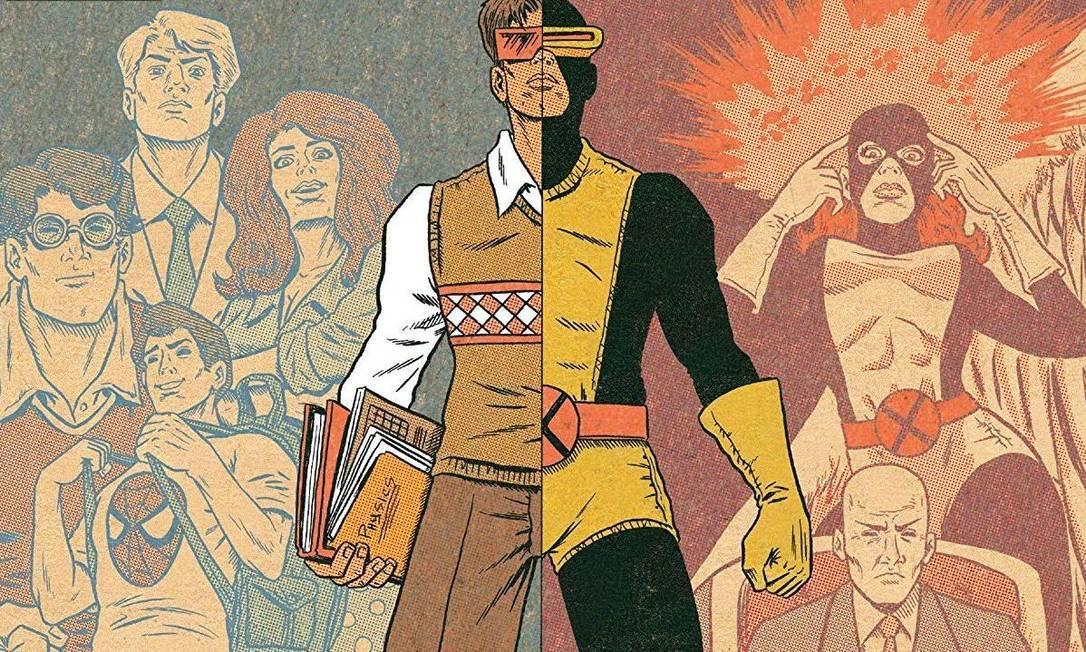 'X-Men: Grand design' se detém em pontos-chave dos 40 anos de história mutante, todos bem conectados Foto: Reprodução