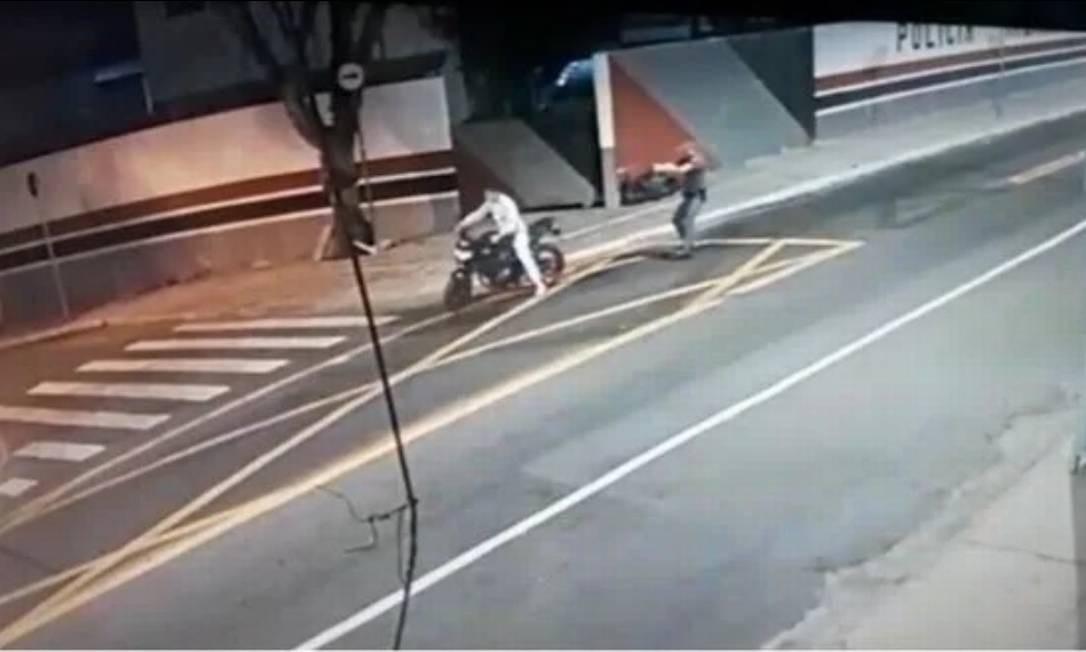 Policial atira em motociclista na zona leste de SP Foto: SSP / SSP