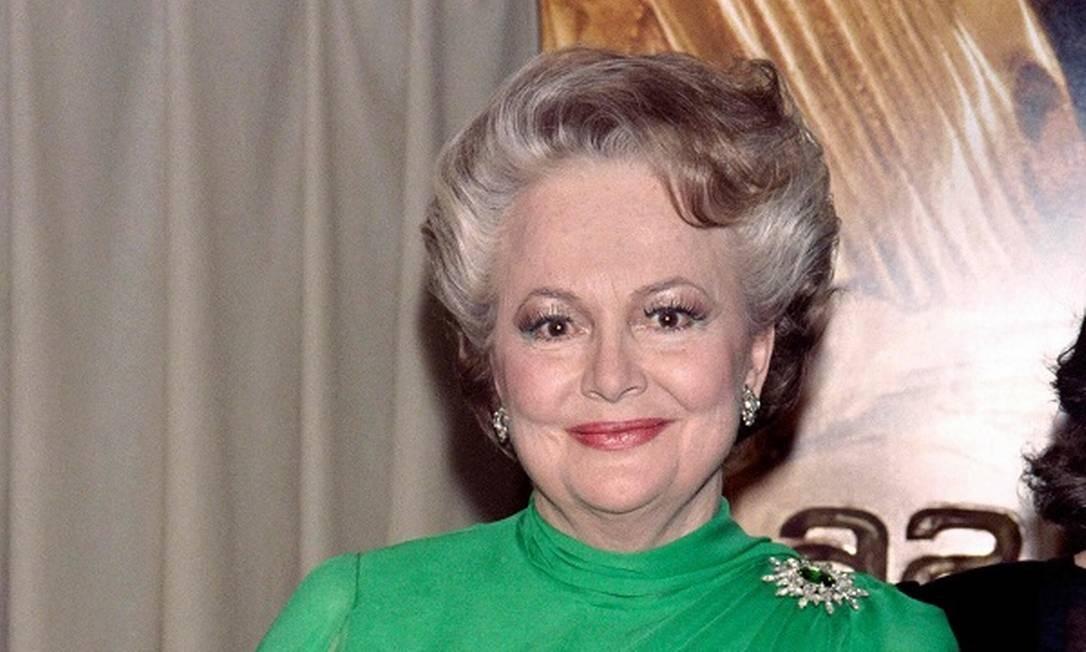 Olivia de Havilland: atriz de 'E o vento levou', ganhou dois Oscar Foto: AFP