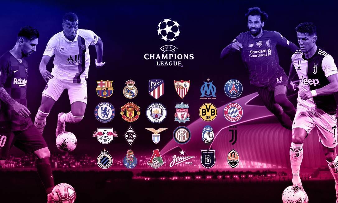 Champions League: veja a lista dos 24 classificados à fase ...