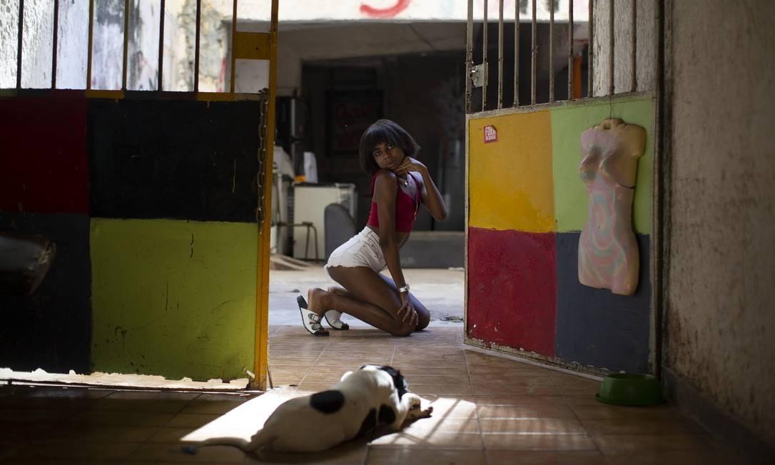 Khlay Kardashian, é uma das 60 moradoras da casa que não serão desalojadas Foto: Márcia Foletto / Agência O Globo