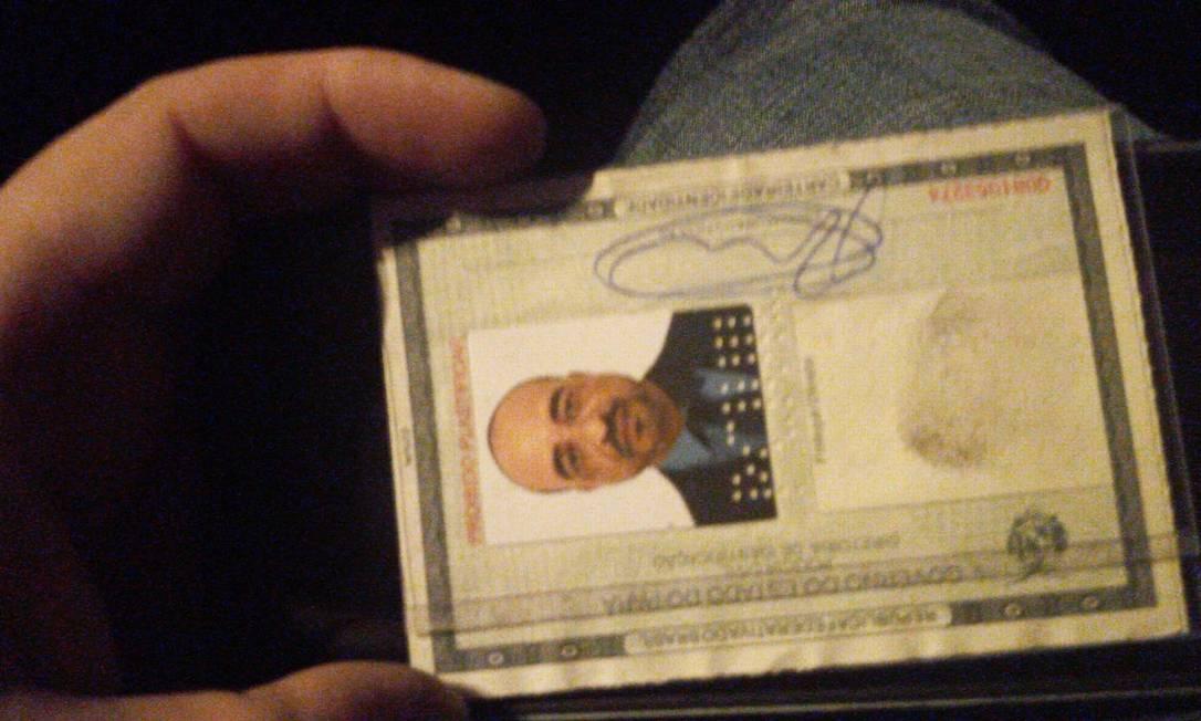 O traficante conhecido com Mike adulterou sua identidade e se passou por morto Foto: Divulgação