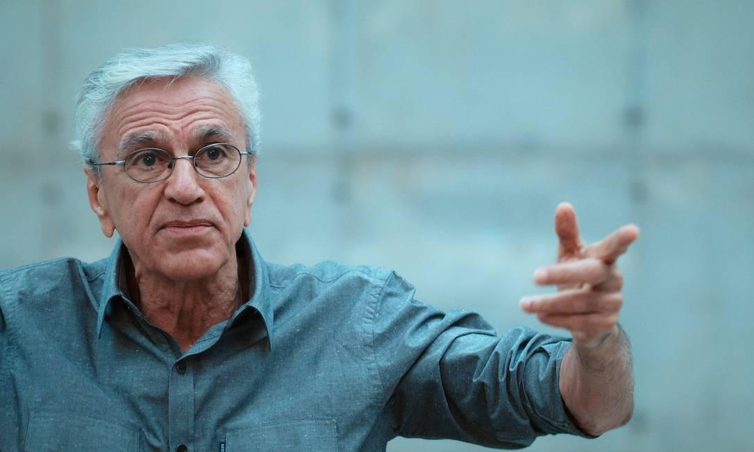 Caetano lembra de prisão na ditadura em documentário Foto: Divulgação