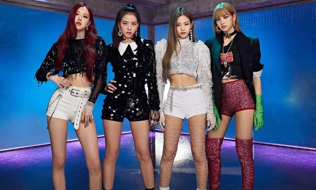 Grupo coreano Blackpink Foto: Divulgação