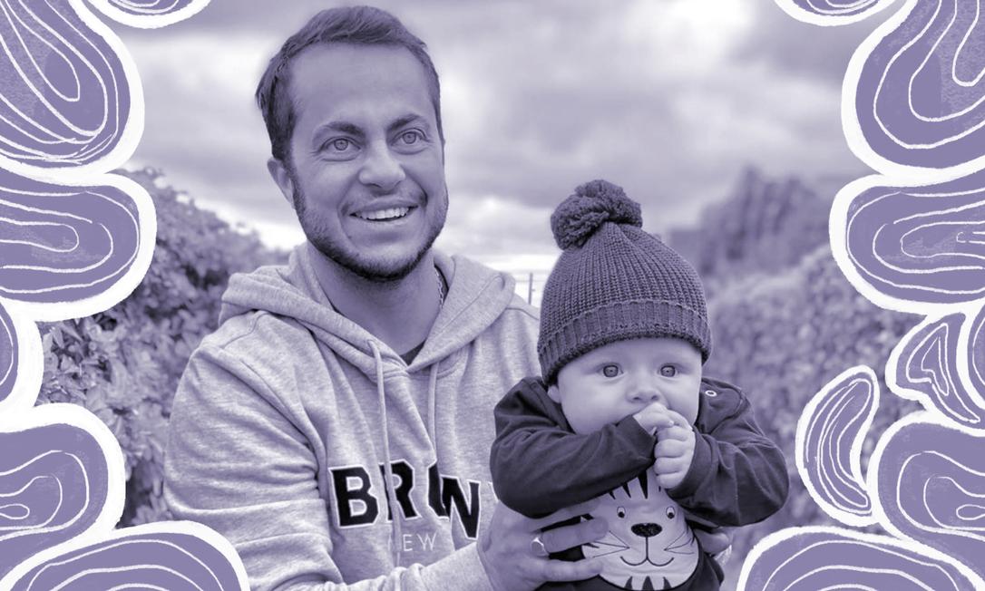 Thammy Miranda e seu filho, Bento Foto: Reprodução