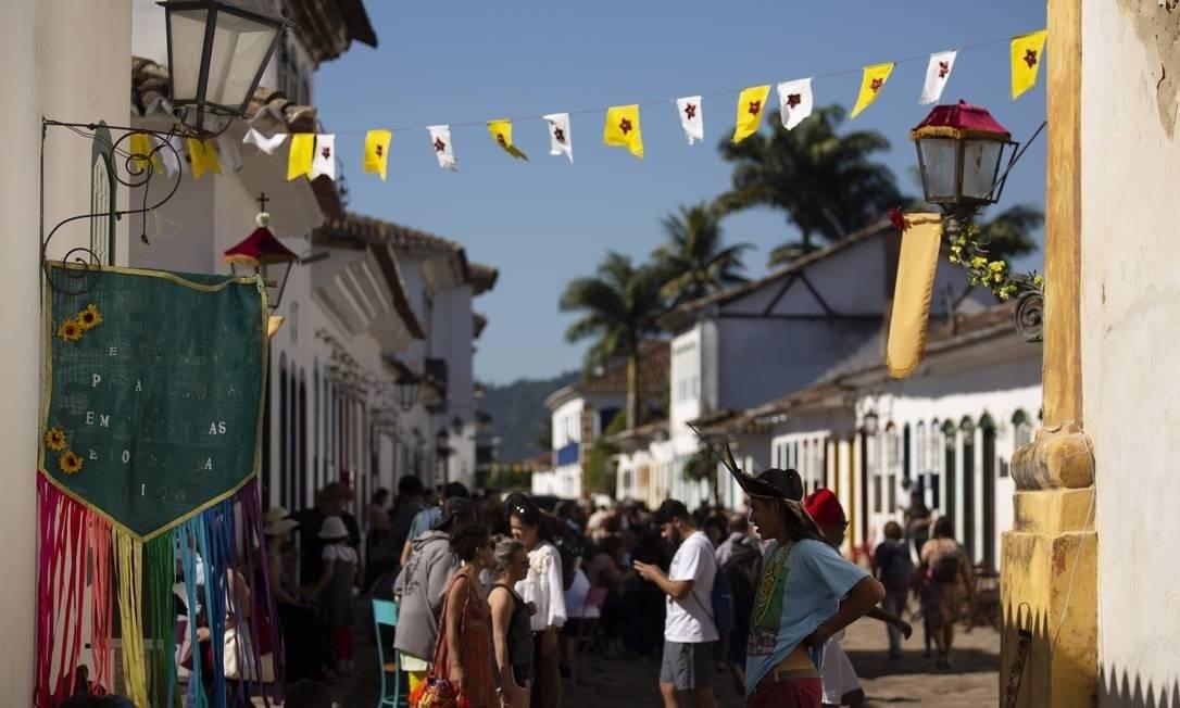 Organização da Flip ainda estuda formato da edição deste ano Foto: Leo Martins / Agência O Globo