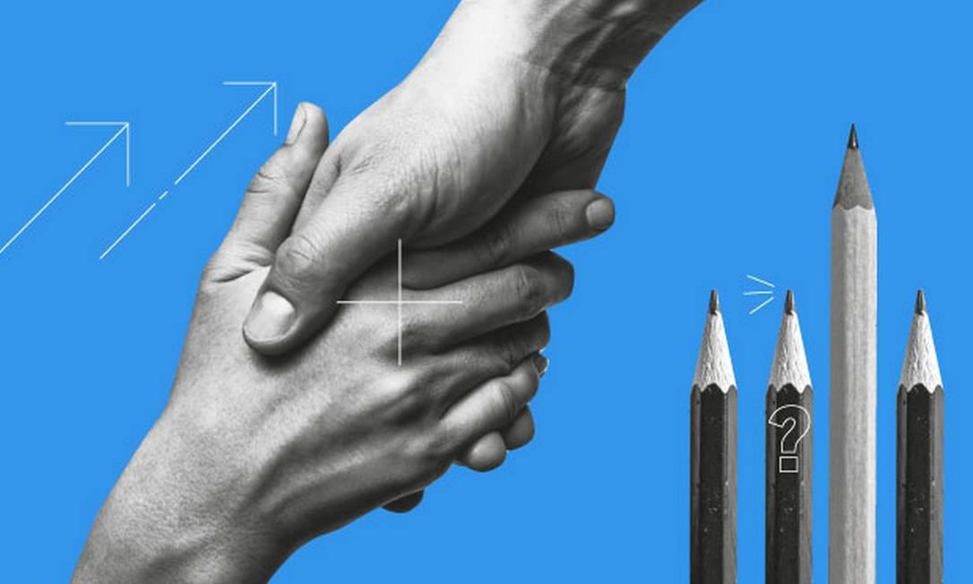 Reflexões sobre a cidadania Foto: Arte O Globo