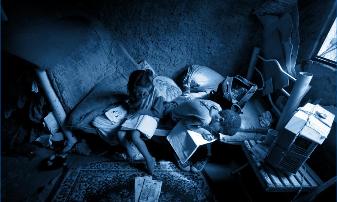 Conjunto de fotos que ilustrou a série 'Os Miseráveis' ganhou o Prêmio de Jornalismo Rei de Espanha, na categoria Fotografia Foto: Márcia Foletto