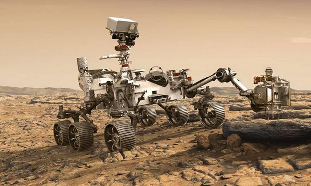 Perseverance é projeto que promete avançar na exploração do Planeta Vermelho Foto: NASA/JPL-CALTECH