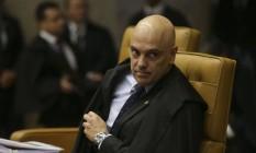 O ministro do STF Alexandre de Moraes Foto: Antônio Cruz / Agência Brasil