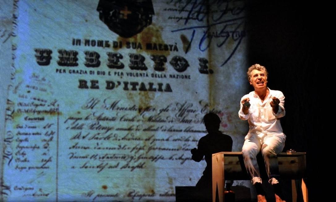 Paulo Betti se baseaou em textos que escreveu na adolescência e que publicou em um jornal Foto: Divulgação/Cristina Granato