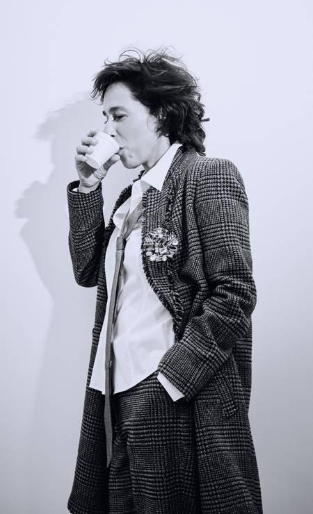 Terno Eva, camisa Hugo Boss e gravata Calvin Klein Foto: Leandro Tumenas
