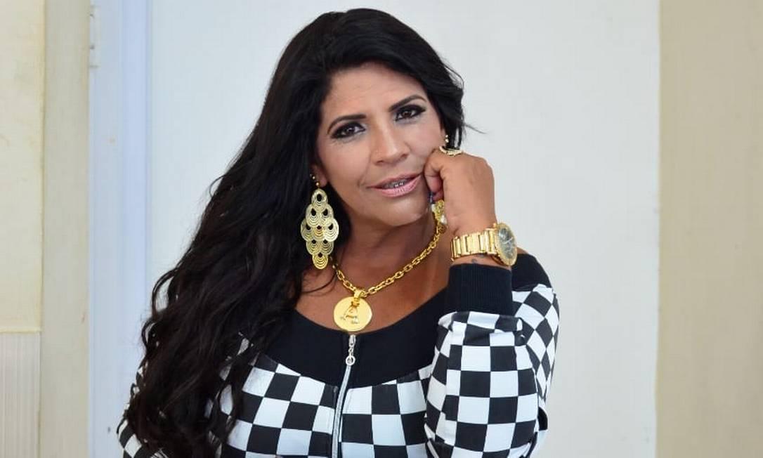 A funkeira Fernanda Rodrigues tinha 44 anos e morreu após passar por um procedimento estético Foto: Reprodução/Facebook