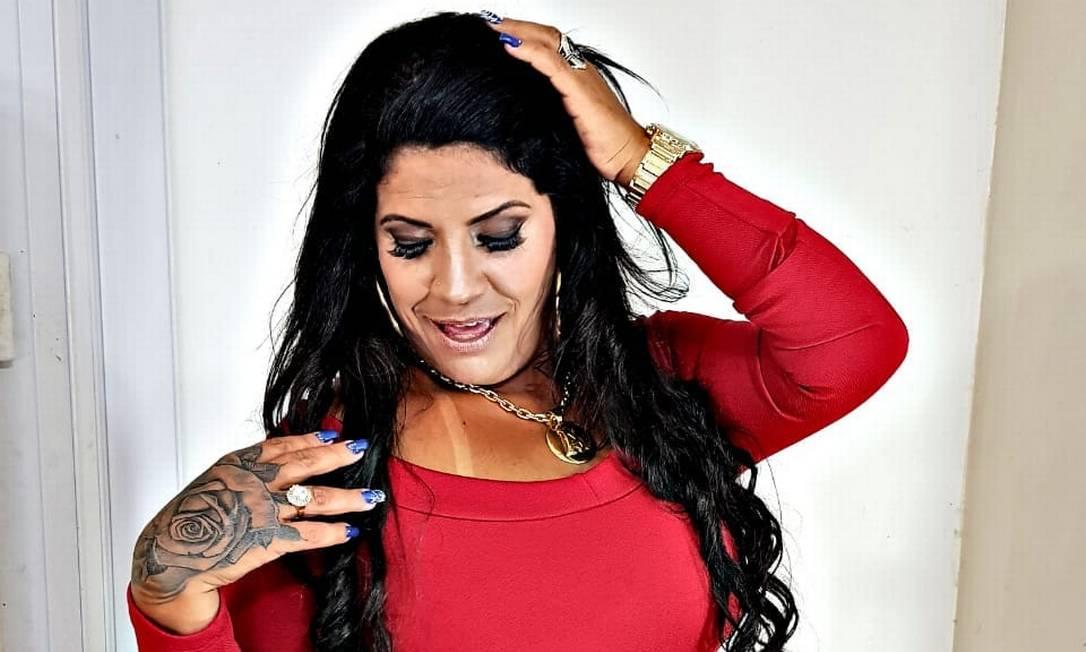 A funkeira Fernanda Rodrigues, mais conhecida como MC Atrevida Foto: Reprodução/Facebook