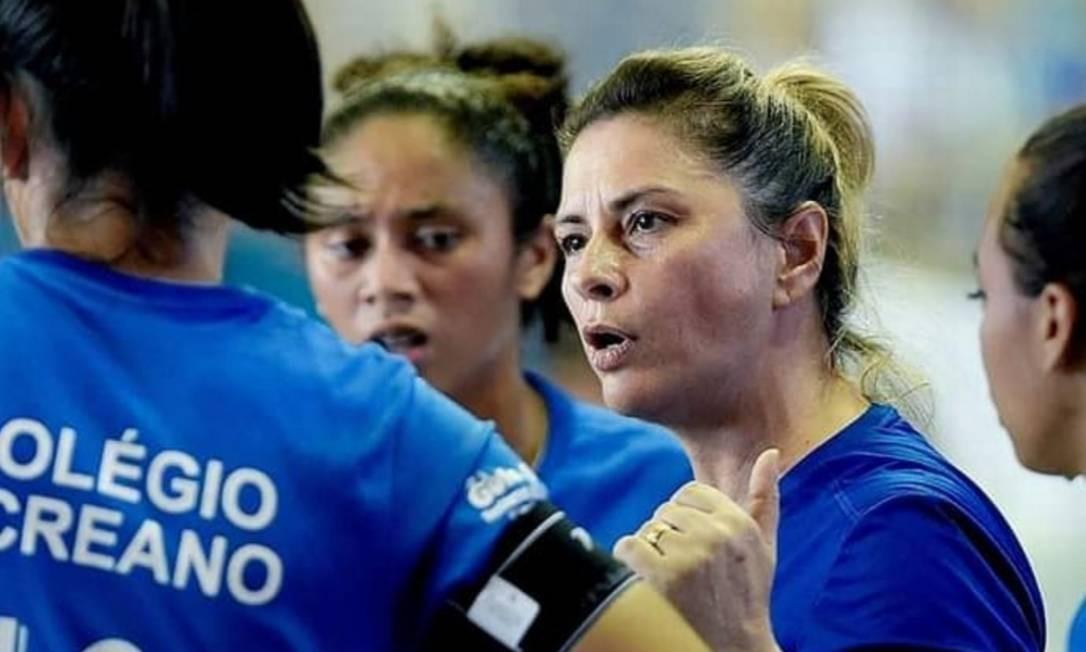 Rose Costa, ex-treinadora da equipe feminina do Rio Branco-AC Foto: Arquivo pessoal