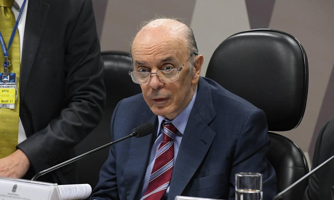 Serra (PSDB-SP) participa de comissão no Senado Foto: Roque de Sá / Roque de Sá/Agência Senado