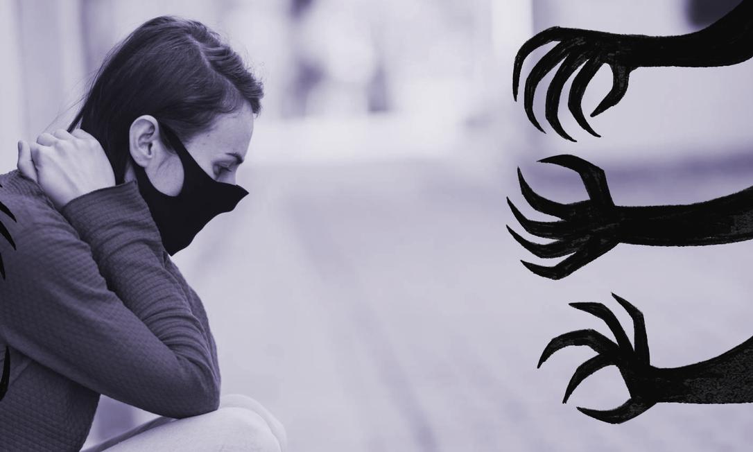 Pesquisa mostra que estresse emocional explodiu nos meses de confinamento e mulheres foram as mais afetadas Foto: Reprodução/ElPaís