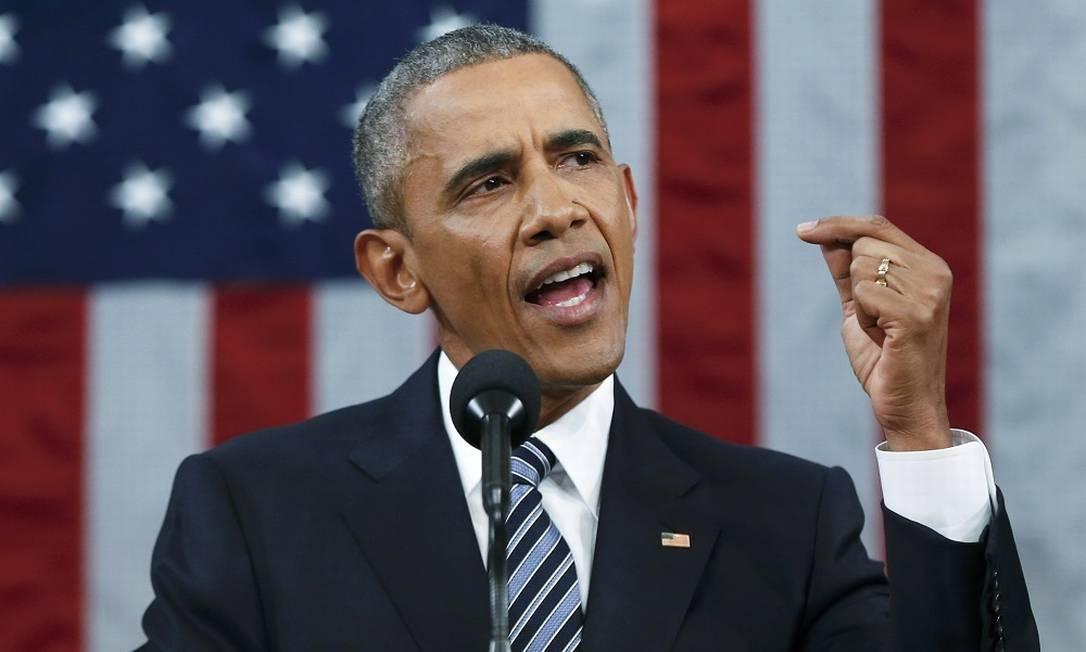 Barack Obama, ex-presidente dos EUA Foto: Evan Vucci / Reuters