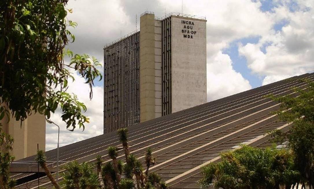 Sede do Incra em Brasília Foto: Agência Brasil
