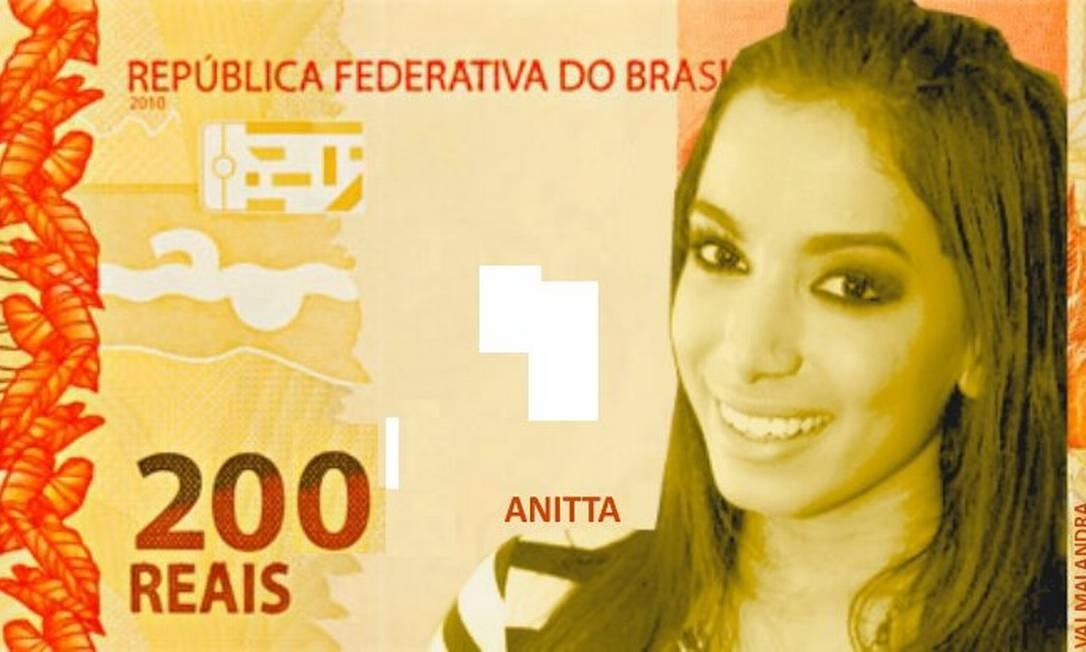 A cantora Anitta Foto: