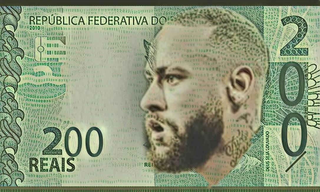 O jogador Neymar Foto: