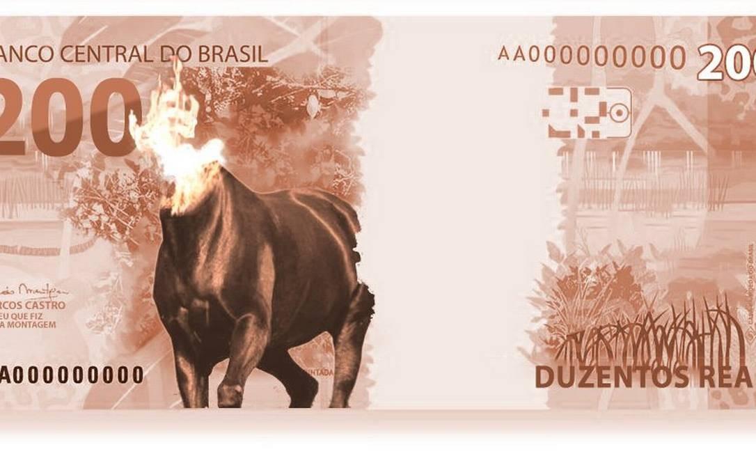 A mula sem cabeça, personagem do folclore brasileiro Foto: