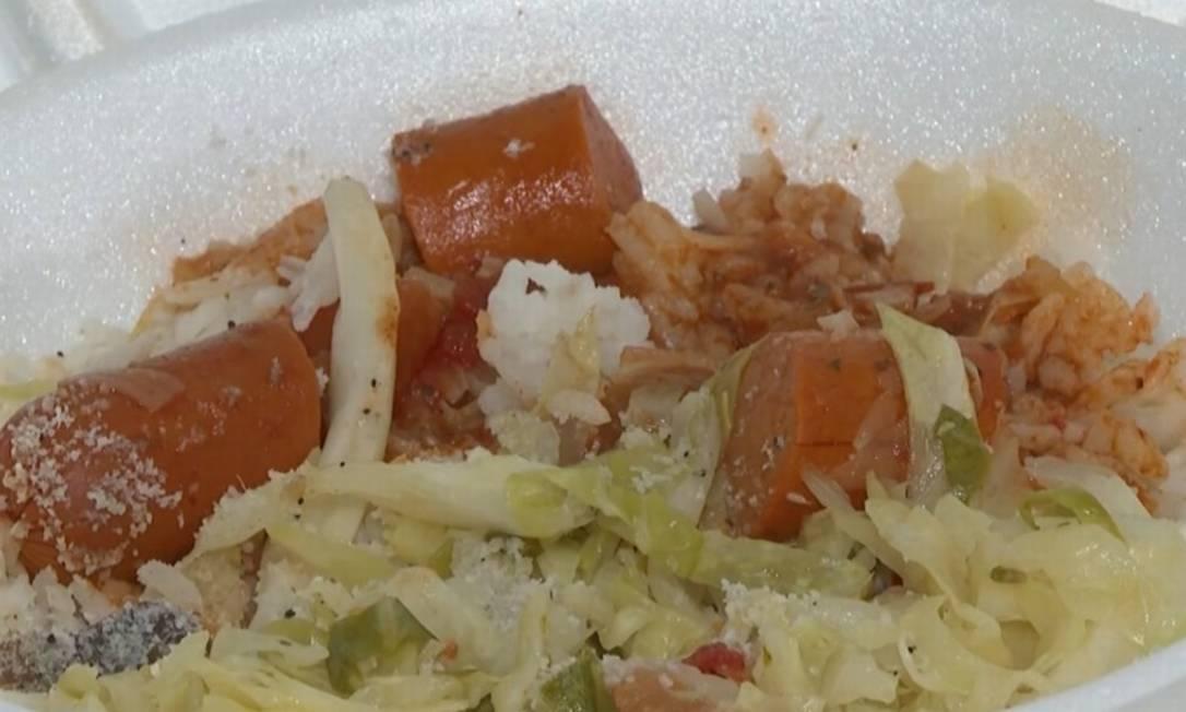 Comida de moradores de rua de Itapevi tinha veneno Foto: Reprodução/TV Globo