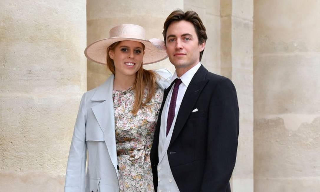 Beatrice e Edoardo estão viajando pela França Foto: Luc Castel / Getty Images