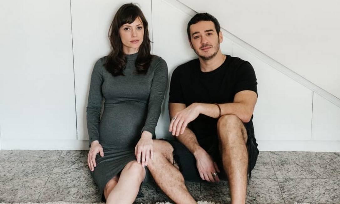 Rosanne e Marcos: à espera de Davi Foto: Babuska Fotografia