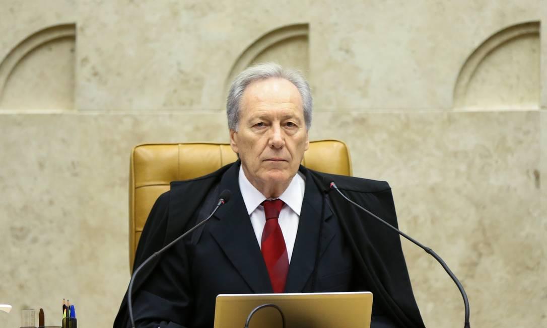 Ministro do STF Ricardo Lewandowski Foto: Marcelo Camargo / Agência Brasil