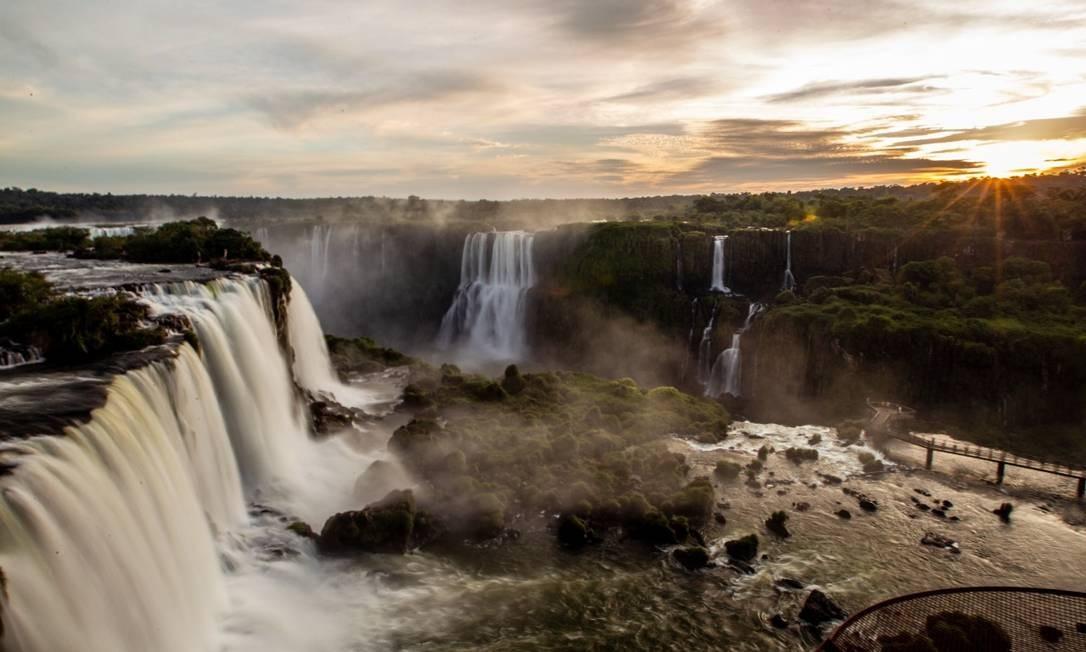 Cataratas do Iguaçu, principais atrações do parque nacional que fica em Foz do Iguaçu, Paraná Foto: Divulgação