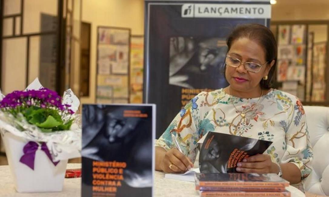 Jaceguara Dantas da Silva atua há 28 anos no Ministério Público em Campo Grande Foto: Reprodução