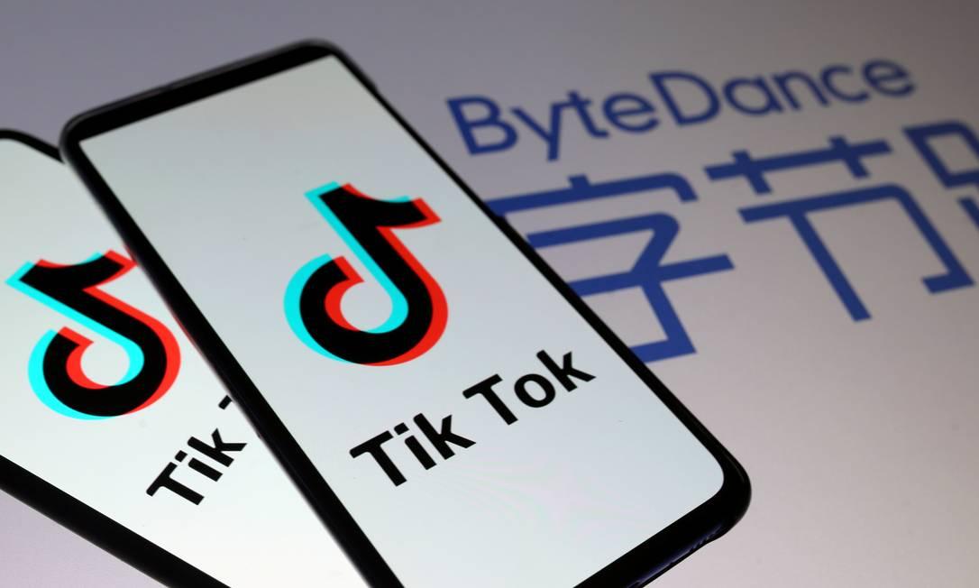 O rápido crescimento do app TikTok nos EUA gerou preocupações sobre privacidade e possível compartilhamento de dados com o governo chinês Foto: Dado Ruvic / REUTERS