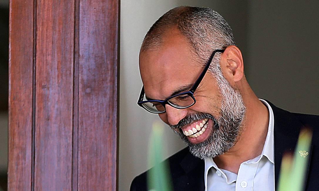 Em maio de 2020, PF fez operação de busca e apreensão na casa do bolgueiro bolsonarista Allan Santos, em área nobre de Brasília Foto: Jorge William / Agência O Globo