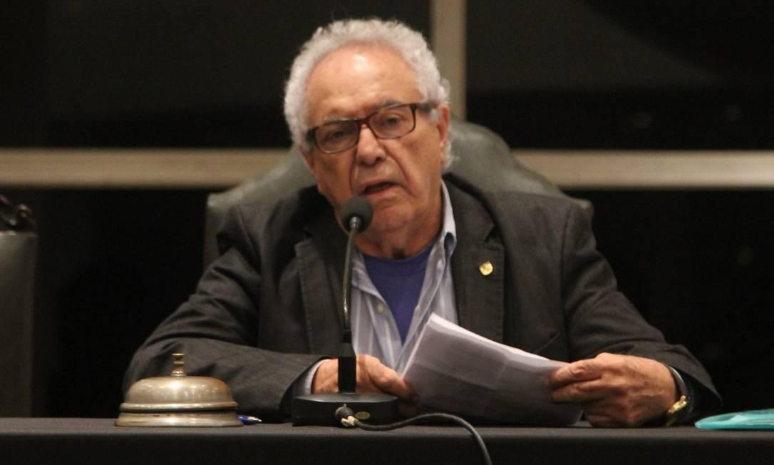 Faues Mussa é presidente da Assembleia Geral do Vasco Foto: Paulo Fernandes